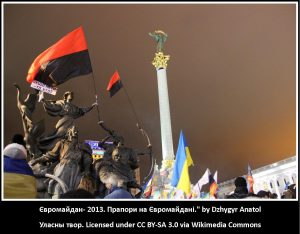 Euromaidan Fahnen