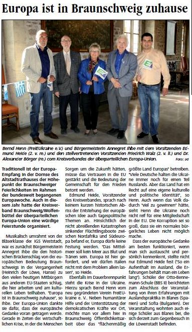 Braunschweig Report Mai 2015