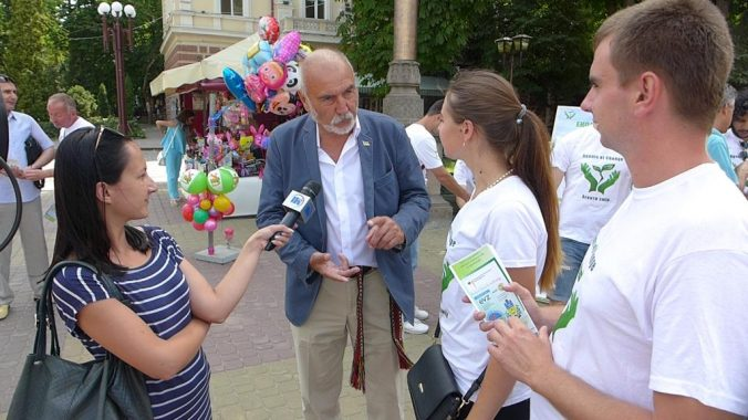 Interviews in der Ukraine