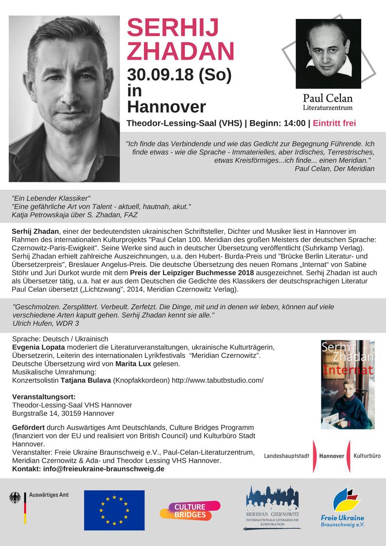 Zhadan Hannover